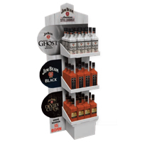Corrugated-liquor-display