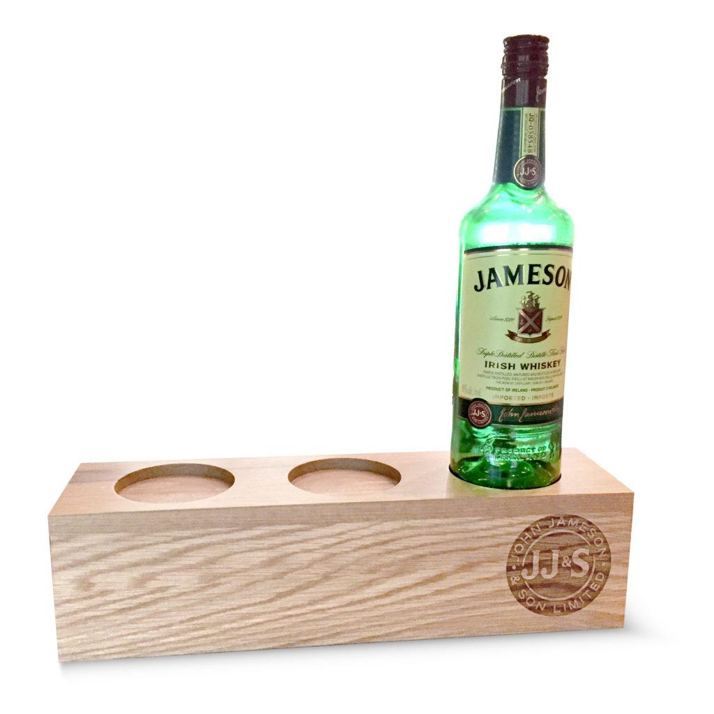 Engraved-wood-bottle-display