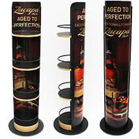 Liquor-pop-floor-rack