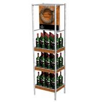 Metal-wire-liquor-rack