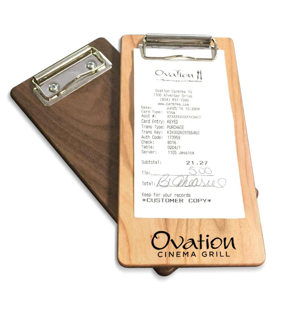 Wood-clipboard-recipt-holder