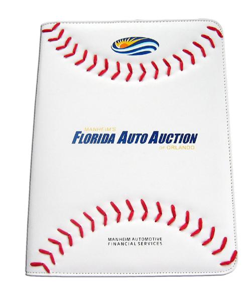 Baseball-padfolio