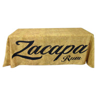 Burlap-table-cover
