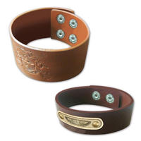 Custom-leather-snap-bracelet