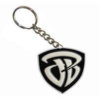 Pewter-die-cut-key-chain