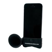 Silicone-phone-speaker