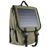 Solar-power-canvas-backpack