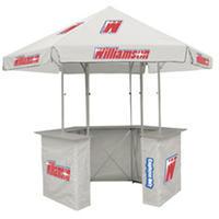Tent-kiosk