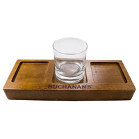 Wood-rocks-glass-flight-tray