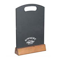 Woodchalkboardtabletent